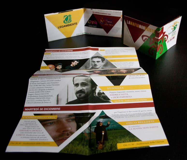 teatro civile brochure