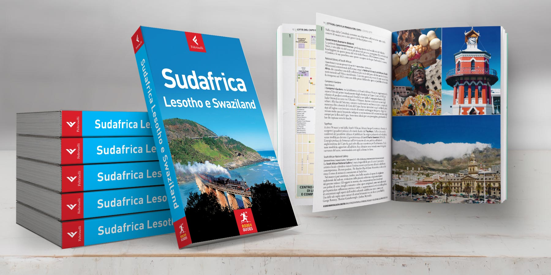 gruida turistica rough guide, Sudafrica